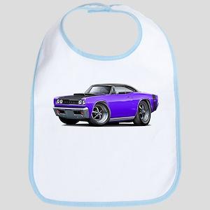 1968 Super Bee Purple Car Bib