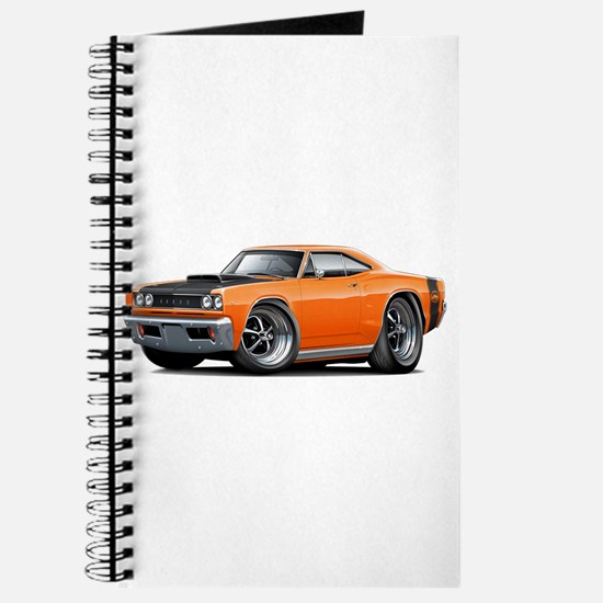 1968 Super Bee Orange Car Journal