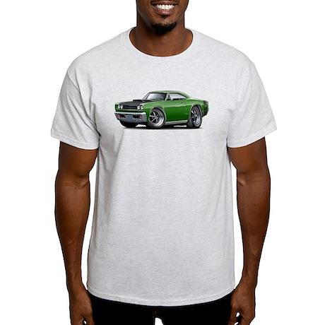1968 Super Bee Green Car Light T-Shirt