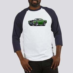 1968 Super Bee Green Car Baseball Jersey