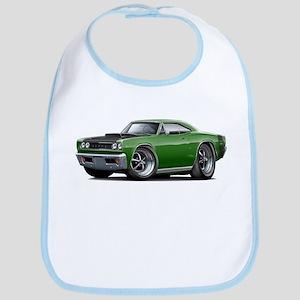 1968 Super Bee Green Car Bib
