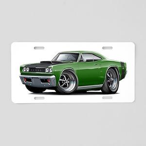 1968 Super Bee Green Car Aluminum License Plate