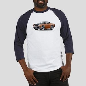 1968 Super Bee Brown Car Baseball Jersey