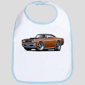 1968 Super Bee Brown Car Bib