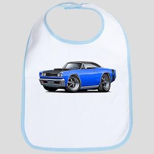 1968 Super Bee Blue-Black Car Bib