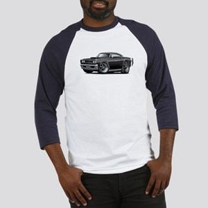 1968 Super Bee Black Car Baseball Jersey