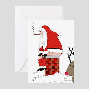 Sick christmas greeting cards cafepress christmas greeting card m4hsunfo