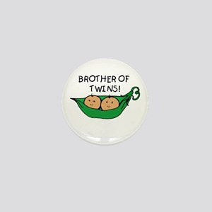 Brother of Twins Pod Mini Button