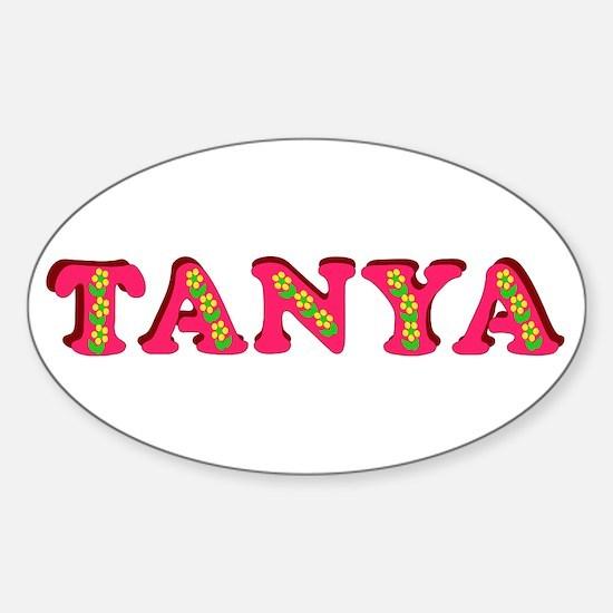 Tanya Sticker (Oval)