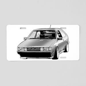 Scirocco Aluminum License Plate