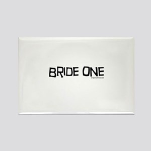 Bride one Rectangle Magnet