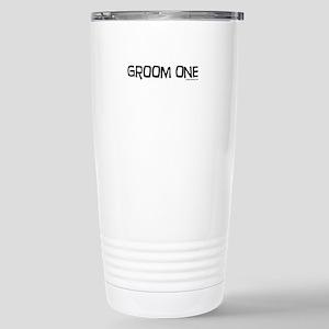 Groom one funny wedding Stainless Steel Travel Mug