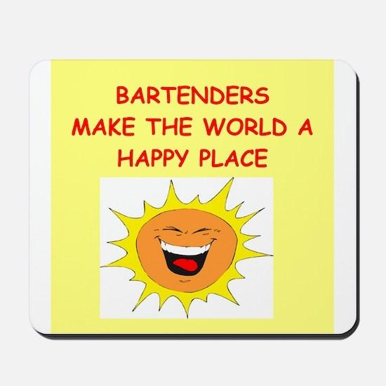 bartenders Mousepad