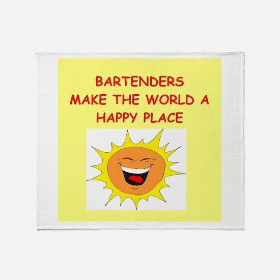 bartenders Throw Blanket