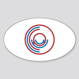 Occupy Wall Street Logo Sticker (Oval)