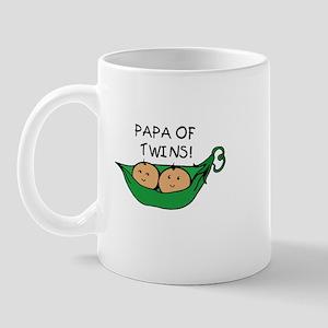 Papa of Twins Pod Mug