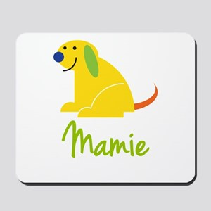 Mamie Loves Puppies Mousepad