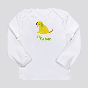 Mamie Loves Puppies Long Sleeve Infant T-Shirt