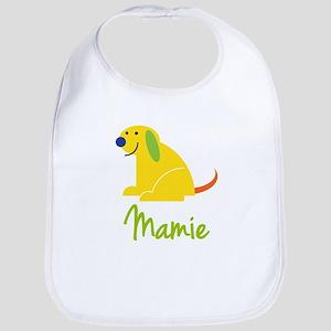 Mamie Loves Puppies Bib