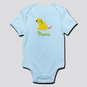 Mamie Loves Puppies Infant Bodysuit