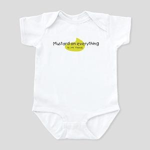 Mustard on Everything Infant Bodysuit