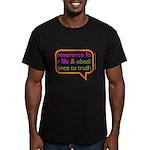 A Mini Philosophy Men's Fitted T-Shirt (dark)