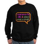 A Mini Philosophy Sweatshirt (dark)