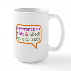 A Mini Philosophy Large Mug