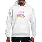 A Mini Philosophy Hooded Sweatshirt