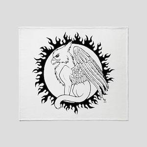 Sun Gryphon Throw Blanket