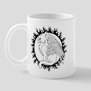 Sun Gryphon Mug