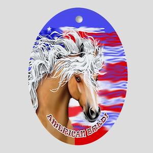 American Bred Ornament (Oval)