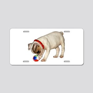 """French Bulldog 1"" Aluminum License Plate"