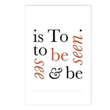 To Be Is To See And Be Seen Postcards (Package of
