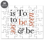 To Be Is To See And Be Seen Puzzle