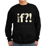 if?! white/brown Sweatshirt (dark)