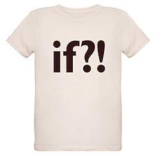 if?! white/brown Organic Kids T-Shirt