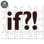 if?! white/brown Puzzle