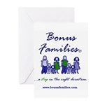 Bonus Families Greeting Cards (pk Of 20)
