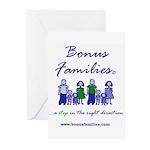 Bonus Families Greeting Cards (pk Of 10)