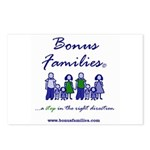 Bonus Families Postcards (package Of 8)