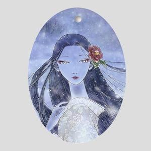 Yukionna Ornament (Oval)