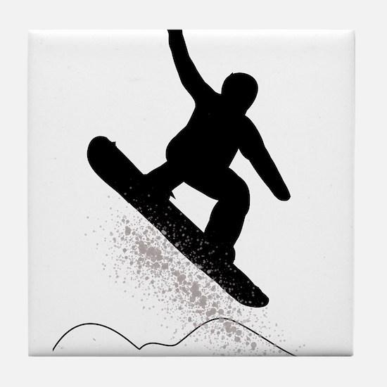 Cool Runnings Tile Coaster