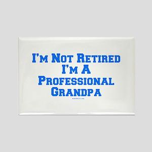Professional Grandpa Rectangle Magnet
