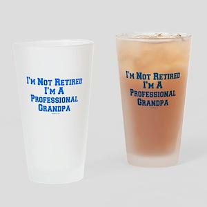 Professional Grandpa Drinking Glass