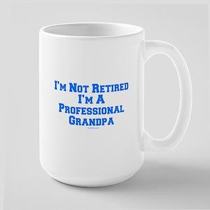 Professional Grandpa Large Mug