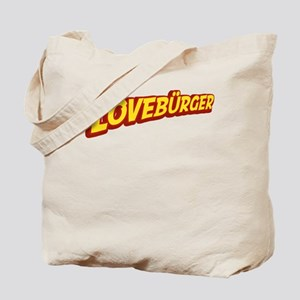 Lovebürger Tote Bag