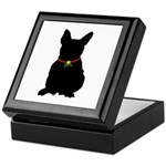 Christmas or Holiday French Bulldog Silhouette Kee