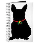 Christmas or Holiday French Bulldog Silhouette Jou