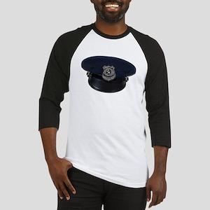 Police Badge Cap Baseball Jersey